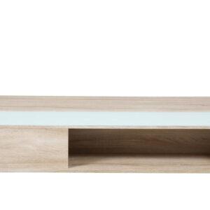 ACT NORDIC Azalea sofabord - natur/hvid træ, m. plads til opbevaring