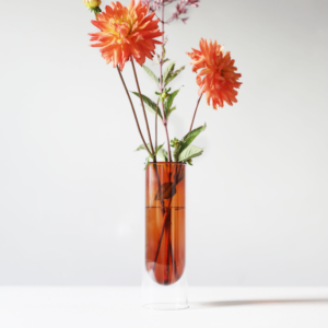 About Studio About Tubevase Amber 20 cm