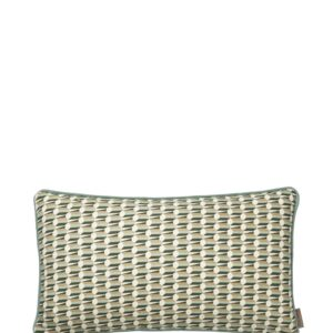 Aflang Pude Benedicte Graphic 25x45cm - Seagrass fra Cozy Living