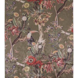 Airen gulvtæppe - Moss - 120x180 cm fra Essenza