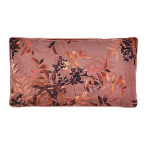 Alba printed pude - Rouge - 25x45 cm fra Cozy Living