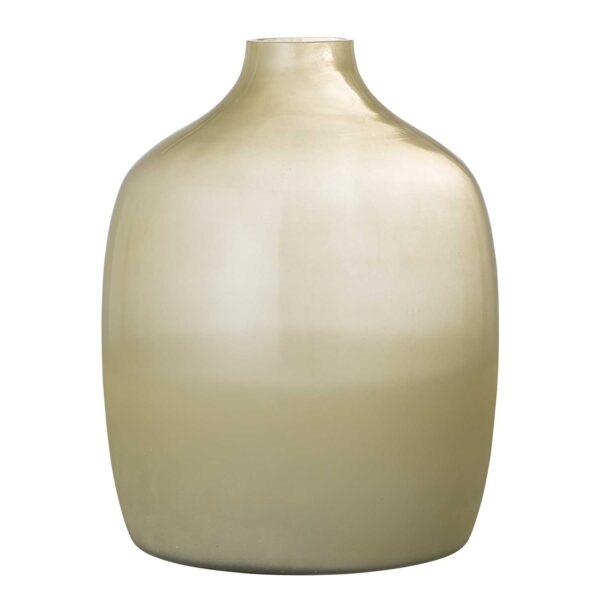 BLOOMINGVILLE Idima gulvvase - gul glas (Ø24)