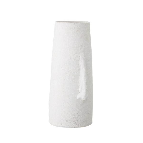 BLOOMINGVILLE dekorationsvase - hvid terrakotta