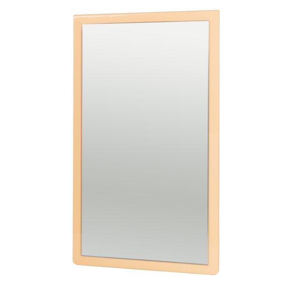 BROSTE COPENHAGEN Tenna vægspejl - spejlglas og dusty peach MDF (78x46)