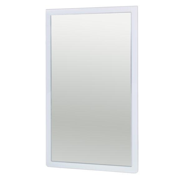 BROSTE COPENHAGEN Tenna vægspejl - spejlglas og lyseblå MDF (78x46)