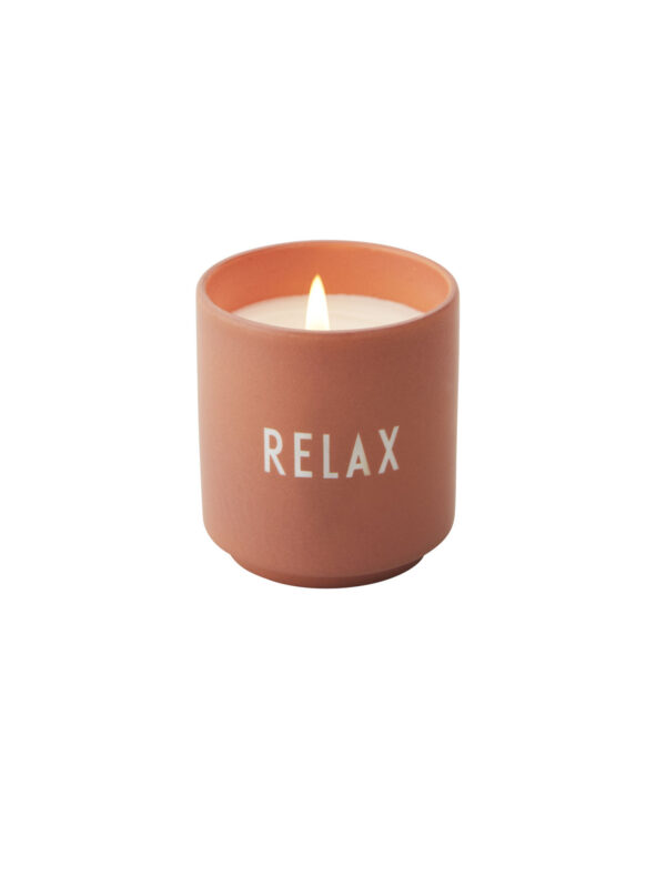 Design Letters Duftlys RELAX - Nude
