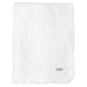 GRACIE dug i hør, Pure white, 160x300 cm fra Broste Copenhagen