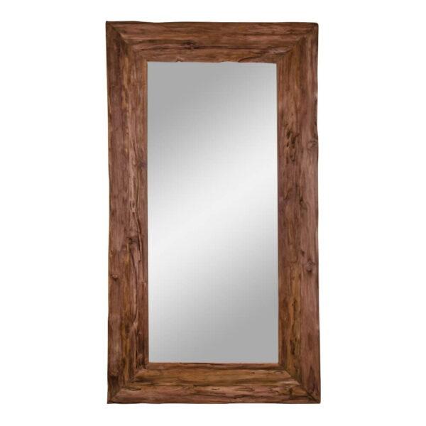 HOUSE NORDIC Granada Antik spejl - spejlglas og genbrugs teaktræ (190x101)