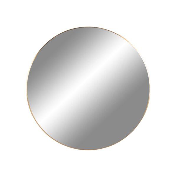 HOUSE NORDIC rund Jersey vægspejl - spejlglas og messing stål (Ø60)