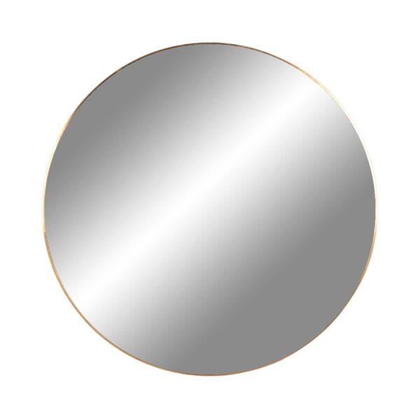 HOUSE NORDIC rund Jersey vægspejl - spejlglas og messing stål (Ø80)