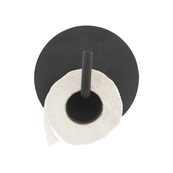 House Doctor - Text Toiletrulleholder - Sort