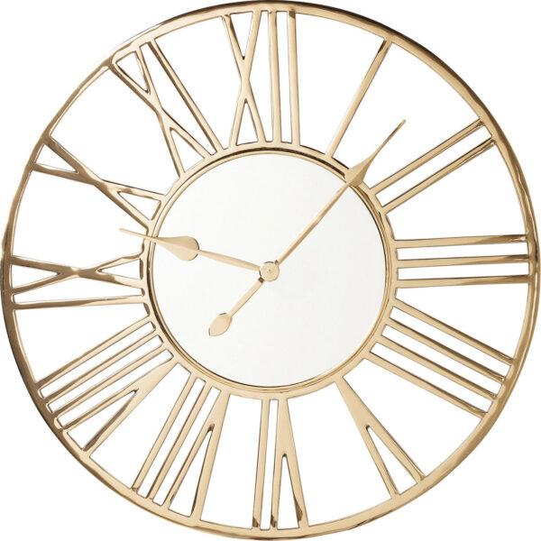 KARE DESIGN Giant Gold vægur - spejlglas/guld stål, rundt (Ø80)