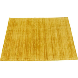KARE DESIGN rektangulær Antique Yellow gulvtæppe - gul bomuld (170x240)