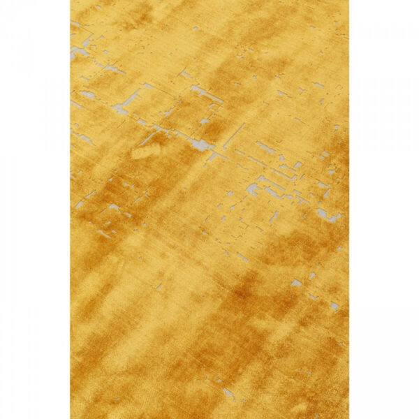 KARE DESIGN rektangulær Primo gulvtæppe - gul bomuld (170x240)