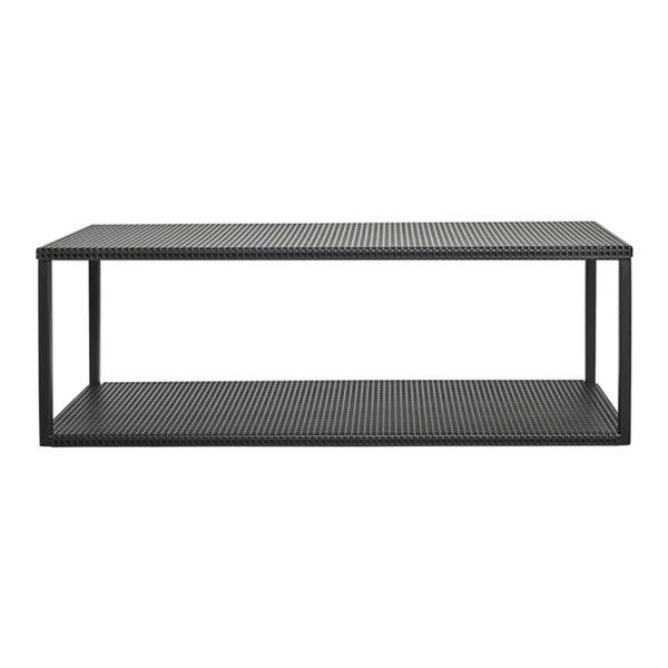 KRISTINA DAM STUDIO Grid væghylde - sort stål