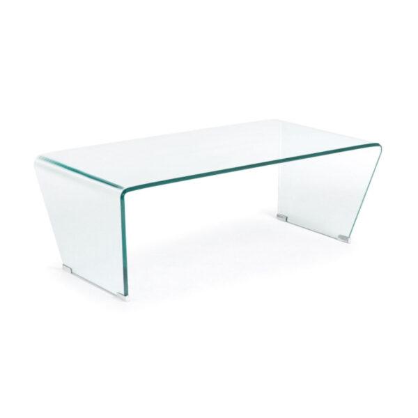 LAFORMA Burano sofabord, rektangulær - klar glas (120x60)