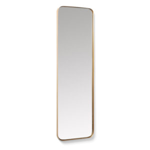 LAFORMA Marcus vægspejl - spejlglas og guld metal (100x30)