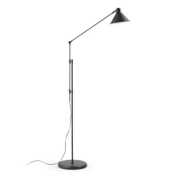 LAFORMA Odine gulvlampe - sort metal