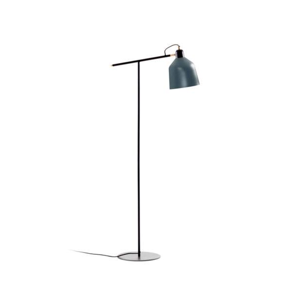 LAFORMA Olimpia gulvlampe - grå og mørkeblå metal