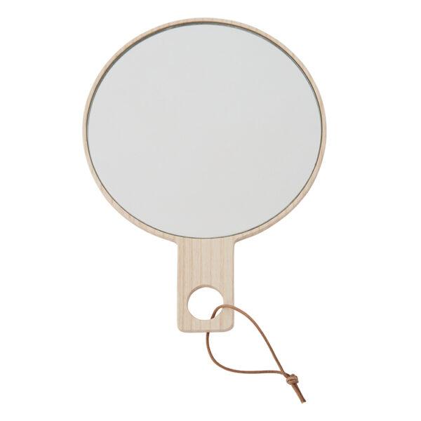 OYOY Ping Pong håndspejl - natur ask