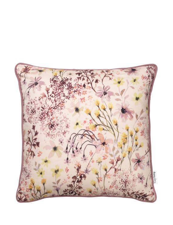 Pude Alberte med blomsterprint 45x45 cm fra Cozy Living