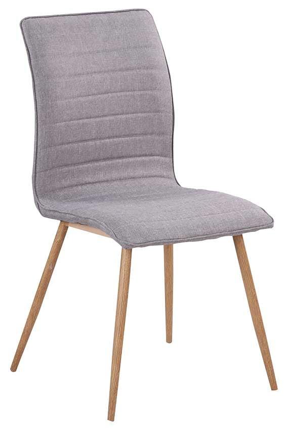 RGE Robin spisebordsstol - grå stof, uden armlæn