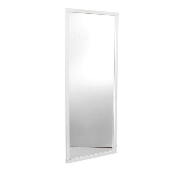 ROWICO rektangulær Confetti vægspejl - spejlglas og hvid birk (150x60)