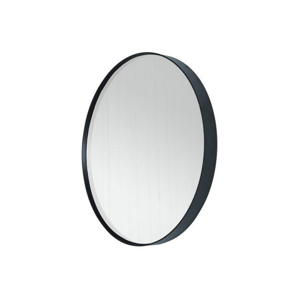 SPINDER DESIGN Donna vægspejl - spejlglas og sort stål (Ø60)
