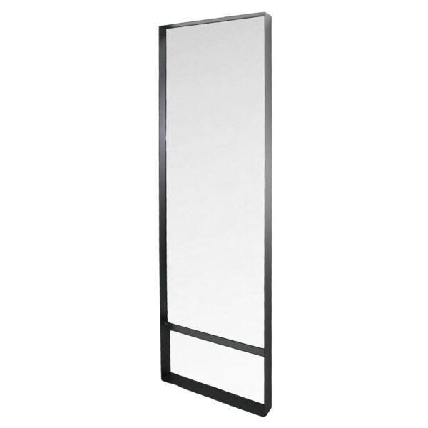 SPINDER DESIGN rektangulær Donna Blacksmith vægspejl - spejlglas og stål (60x190)