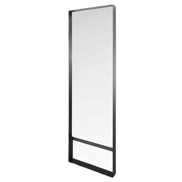 SPINDER DESIGN rektangulær Donna vægspejl - spejlglas og sort stål (60x190)