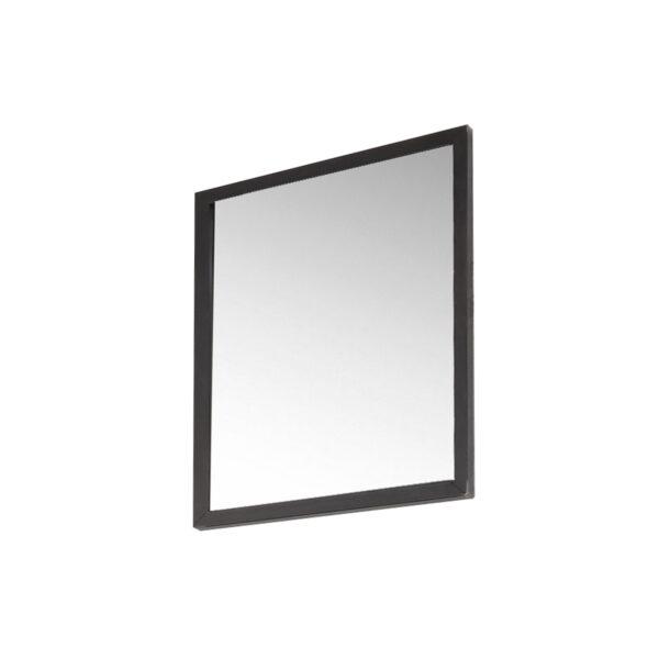 SPINDER DESIGN rektangulær Senza Blacksmith vægspejl - spejlglas og stål (55x40)