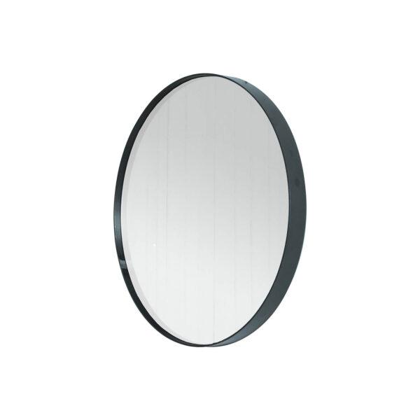 SPINDER DESIGN rund Donna Blacksmith vægspejl - spejlglas og stål (Ø60)