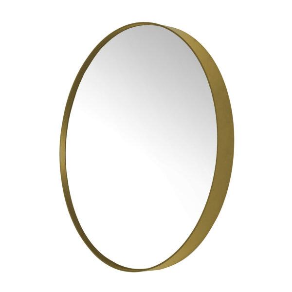 SPINDER DESIGN rund Donna vægspejl - spejlglas og guld stål (Ø90)