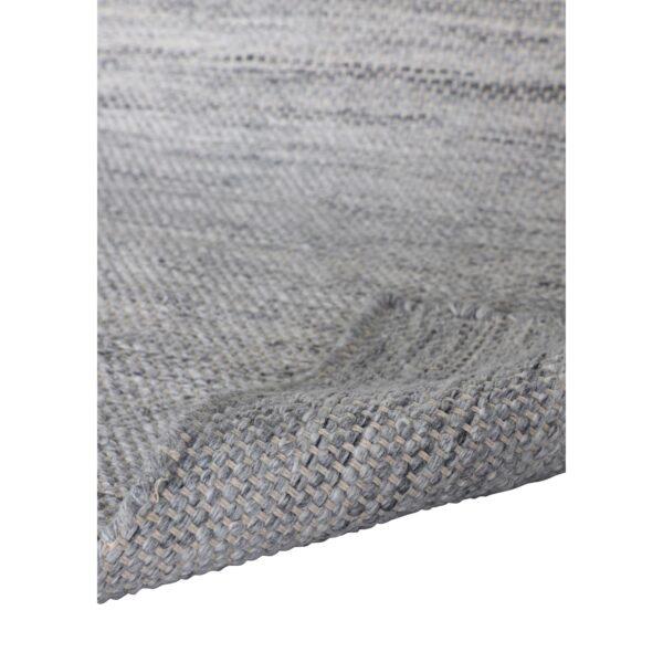 VENTURE DESIGN Devi gulvtæppe - sølv polyester og bomuld (170x240)