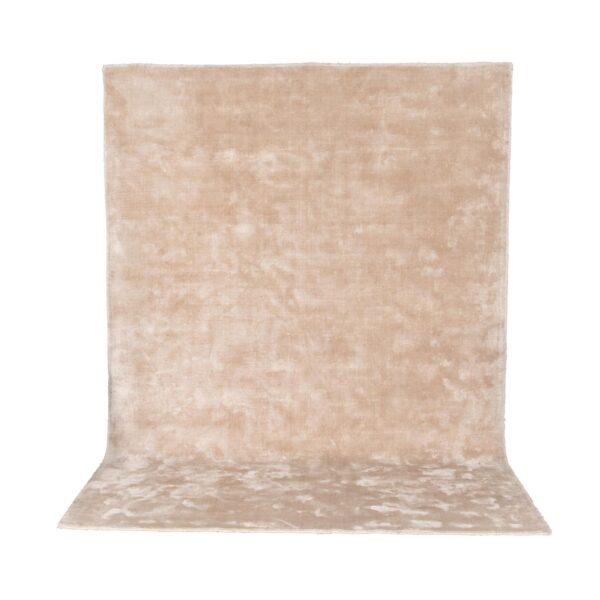 VENTURE DESIGN Indra gulvtæppe - beige viskose og bomuld (200x300)