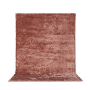 VENTURE DESIGN Indra gulvtæppe - rosa viskose og bomuld (170x240)