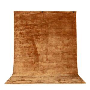 VENTURE DESIGN Indra gulvtæppe - sennepsgul viskose og bomuld (170x240)
