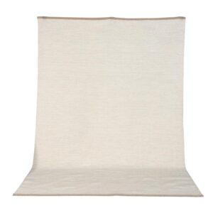 VENTURE DESIGN Jaipur gulvtæppe - beige uld og bomuld (170x240)