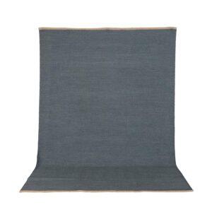 VENTURE DESIGN Jaipur gulvtæppe - blå uld og bomuld (170x240)