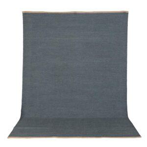 VENTURE DESIGN Jaipur gulvtæppe - blå uld og bomuld (200x300)