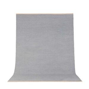 VENTURE DESIGN Jaipur gulvtæppe - lysegrå uld og bomuld (200x300)