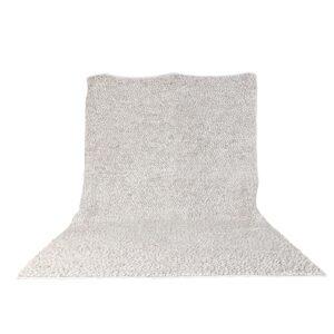 VENTURE DESIGN Jajru gulvtæppe - beige uld og viskose (250x350)