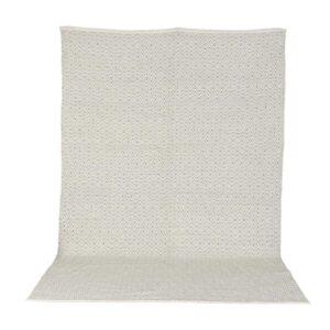 VENTURE DESIGN Julana gulvtæppe - beige uld og polyester (170x240)