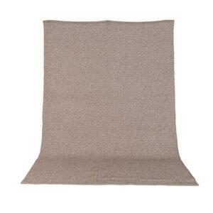 VENTURE DESIGN Julana gulvtæppe - brun uld og polyester (170x240)