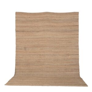 VENTURE DESIGN Kali gulvtæppe - natur jute (200x300)