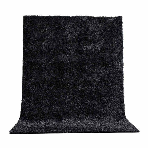 VENTURE DESIGN Mattis gulvtæppe - antracitgrå polyester (230x160)
