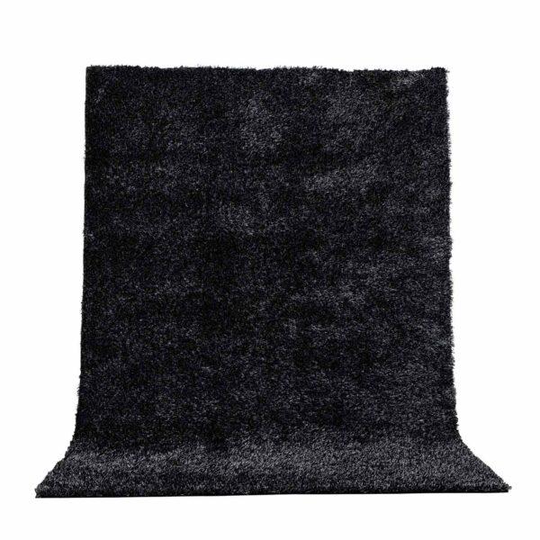 VENTURE DESIGN Mattis gulvtæppe - antracitgrå polyester (290x200)