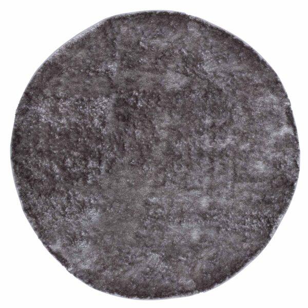 VENTURE DESIGN Mattis gulvtæppe - grå polyester (Ø200)