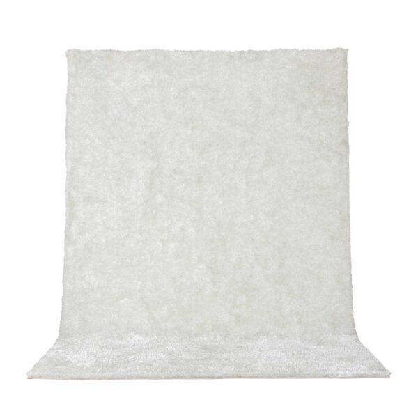VENTURE DESIGN Mattis gulvtæppe - hvid polyester (230x160)