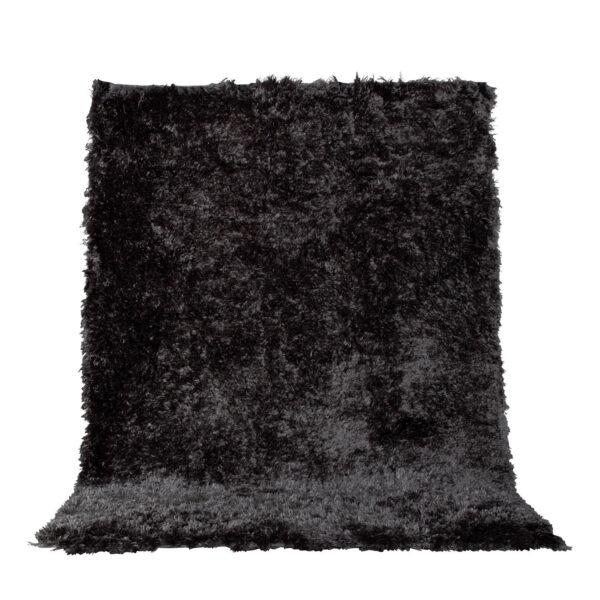 VENTURE DESIGN Natta gulvtæppe - mørkegrå polyester (230x160)